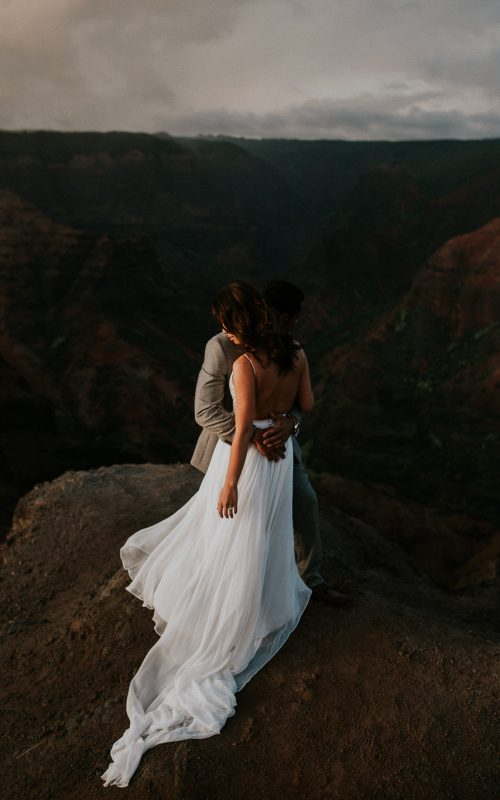 Betty + Mike – Destination Wedding – Kauai, Hawaii