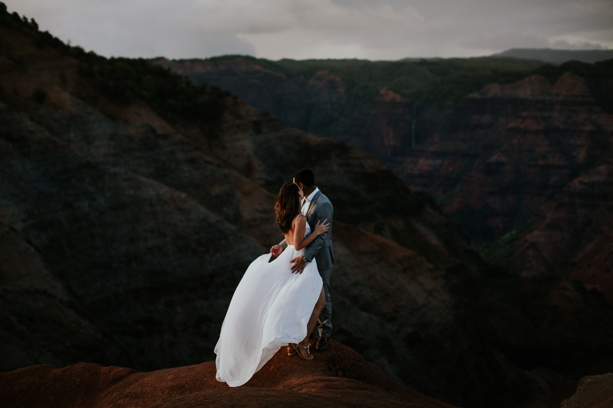 Wedding Waimea Canyon