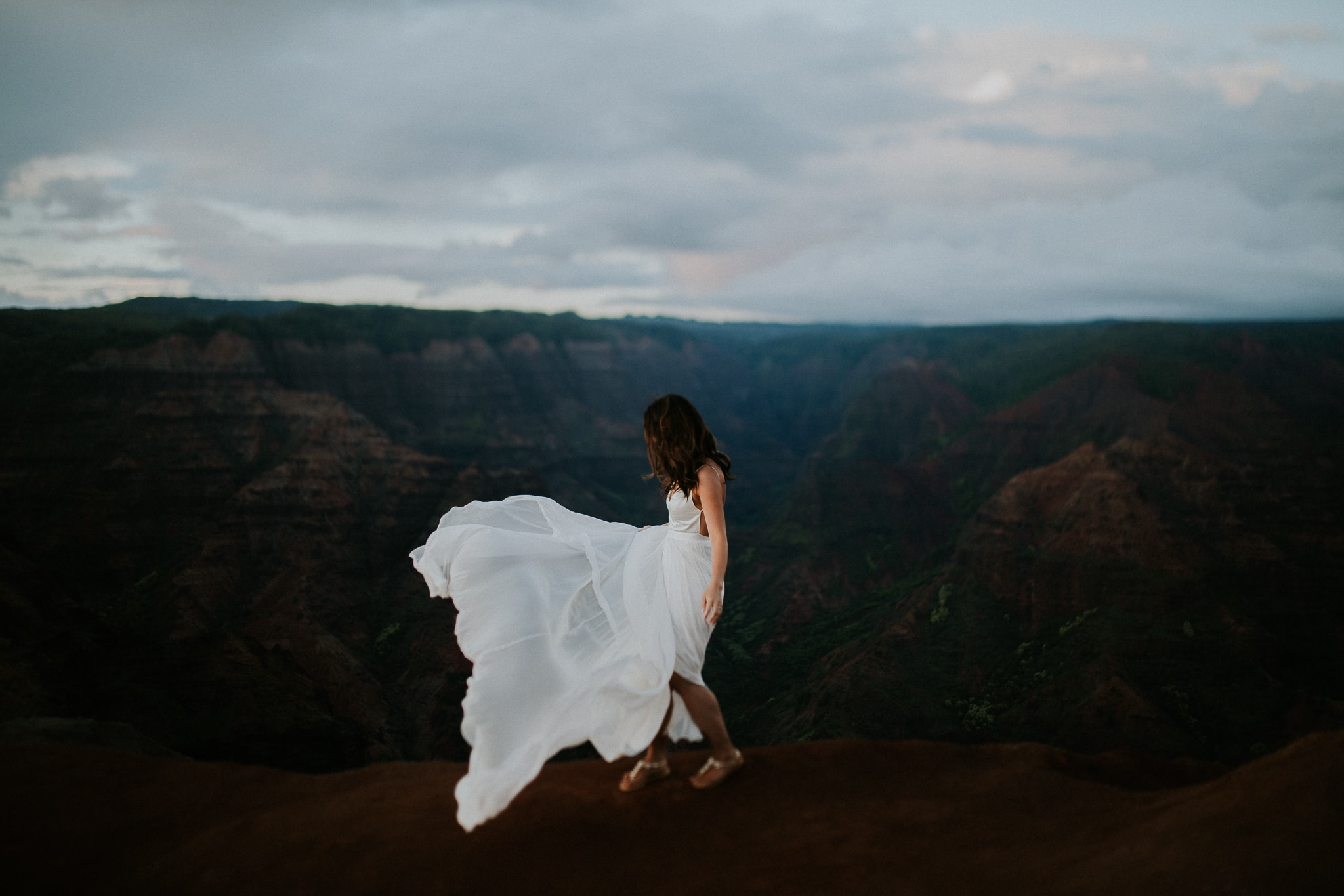 Waimea Canyon Wedding