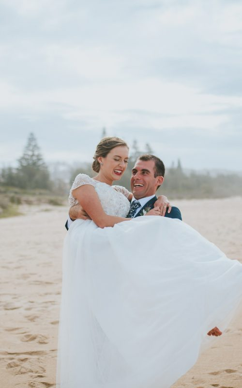 Ash + Ben – Destination Wedding – Merimbula, Australia
