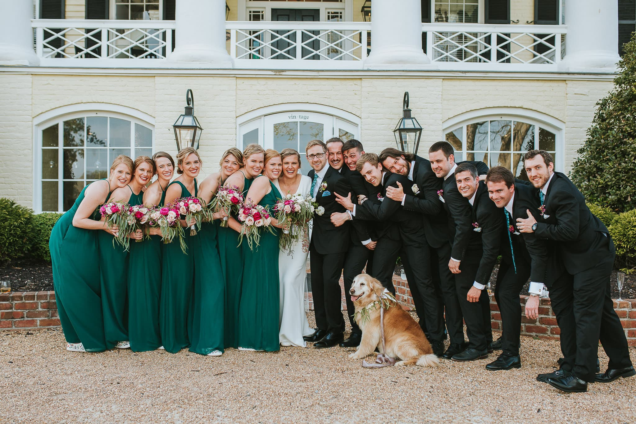 One of the only things I wanted out of a wedding photographer was not to feel like they were in our faces the entire day