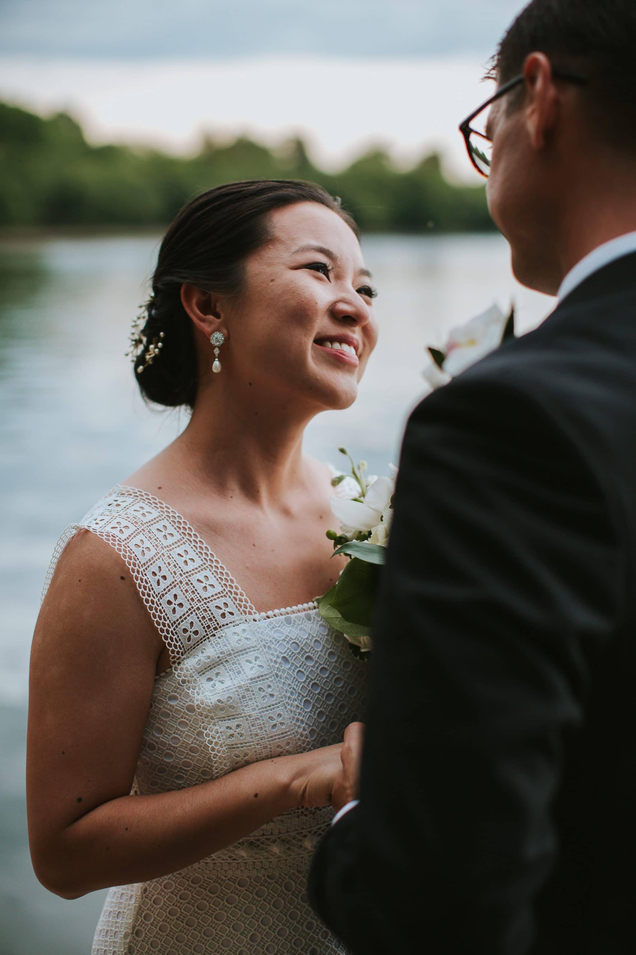 washington dc tidal basin wedding ceremony
