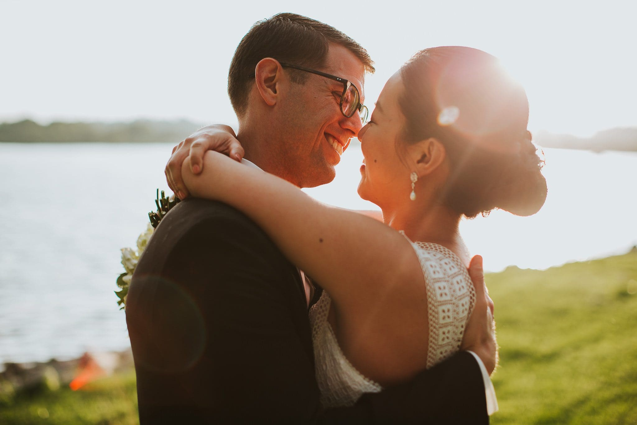 washington dc golden hour wedding