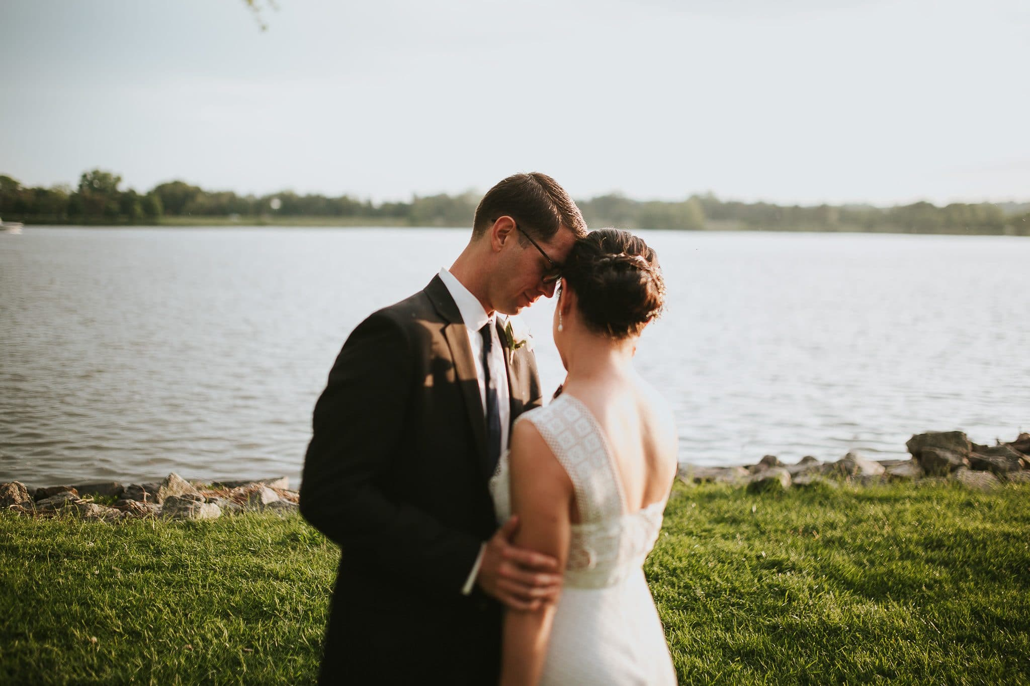washington dc sunset wedding ceremony