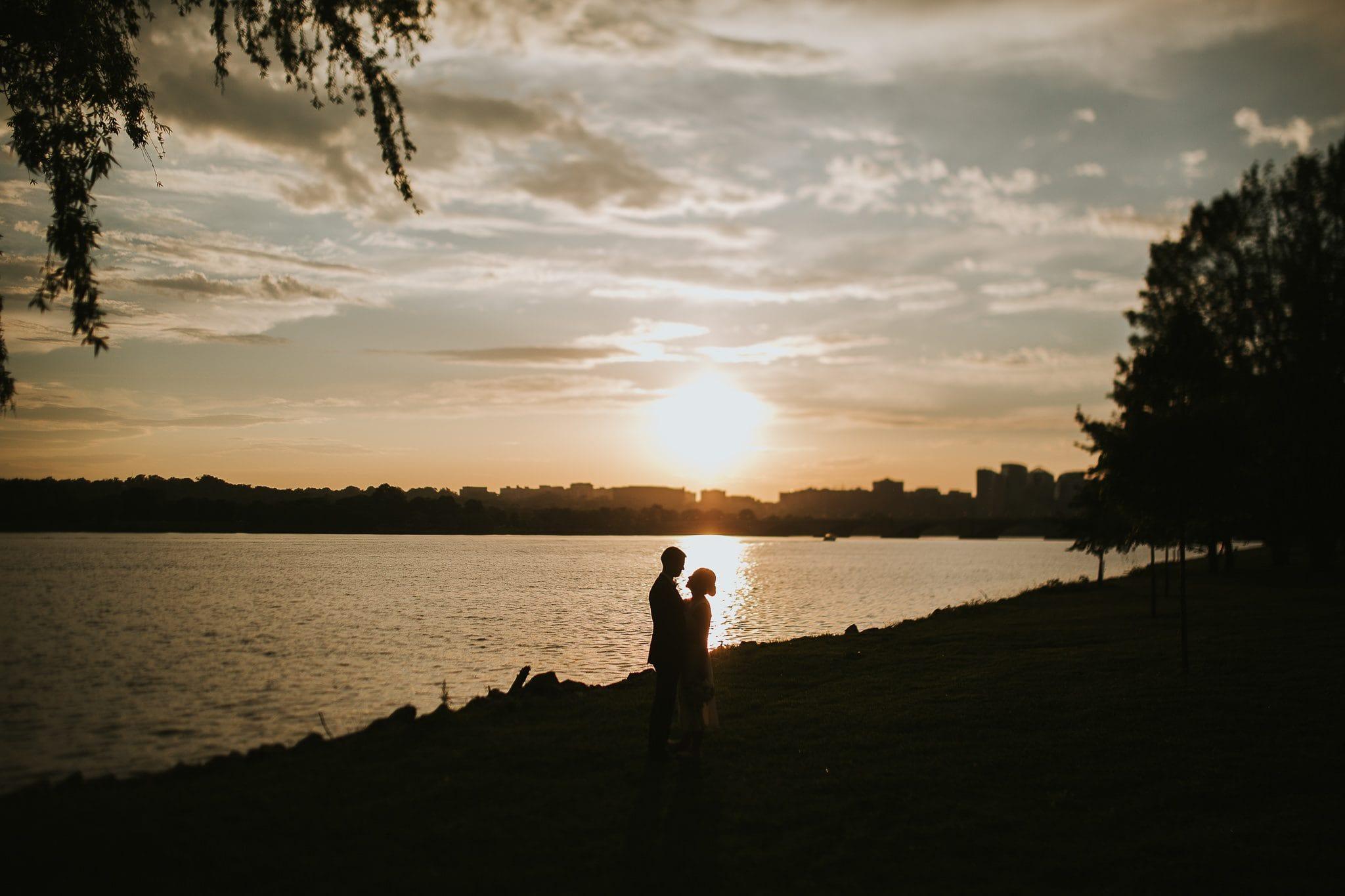 tidal basin sunset ceremony