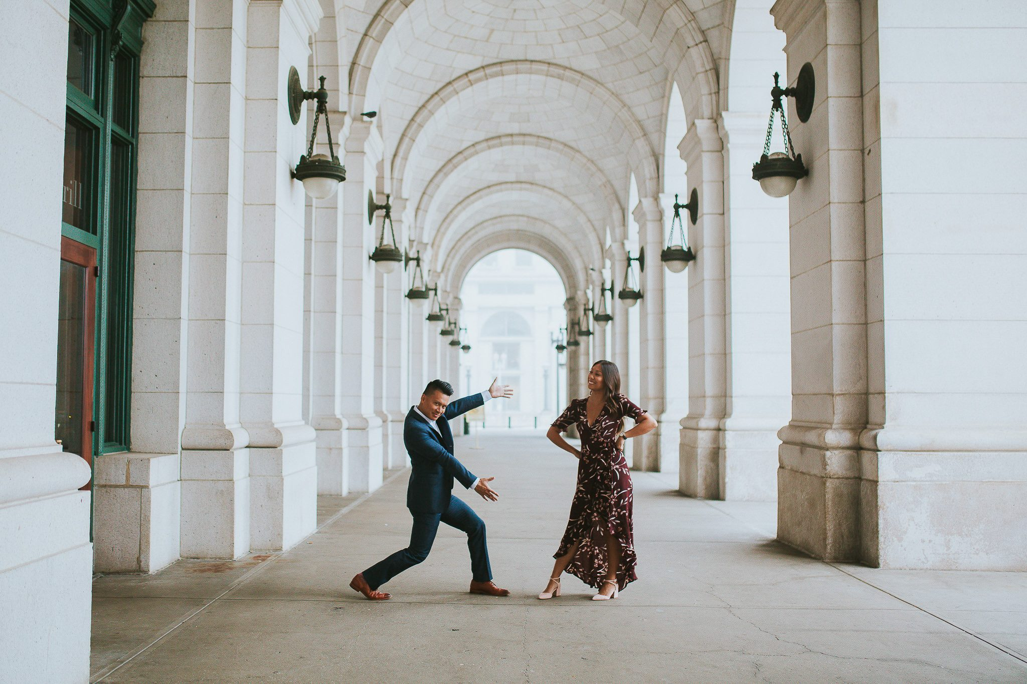 washington DC wedding photographer union station