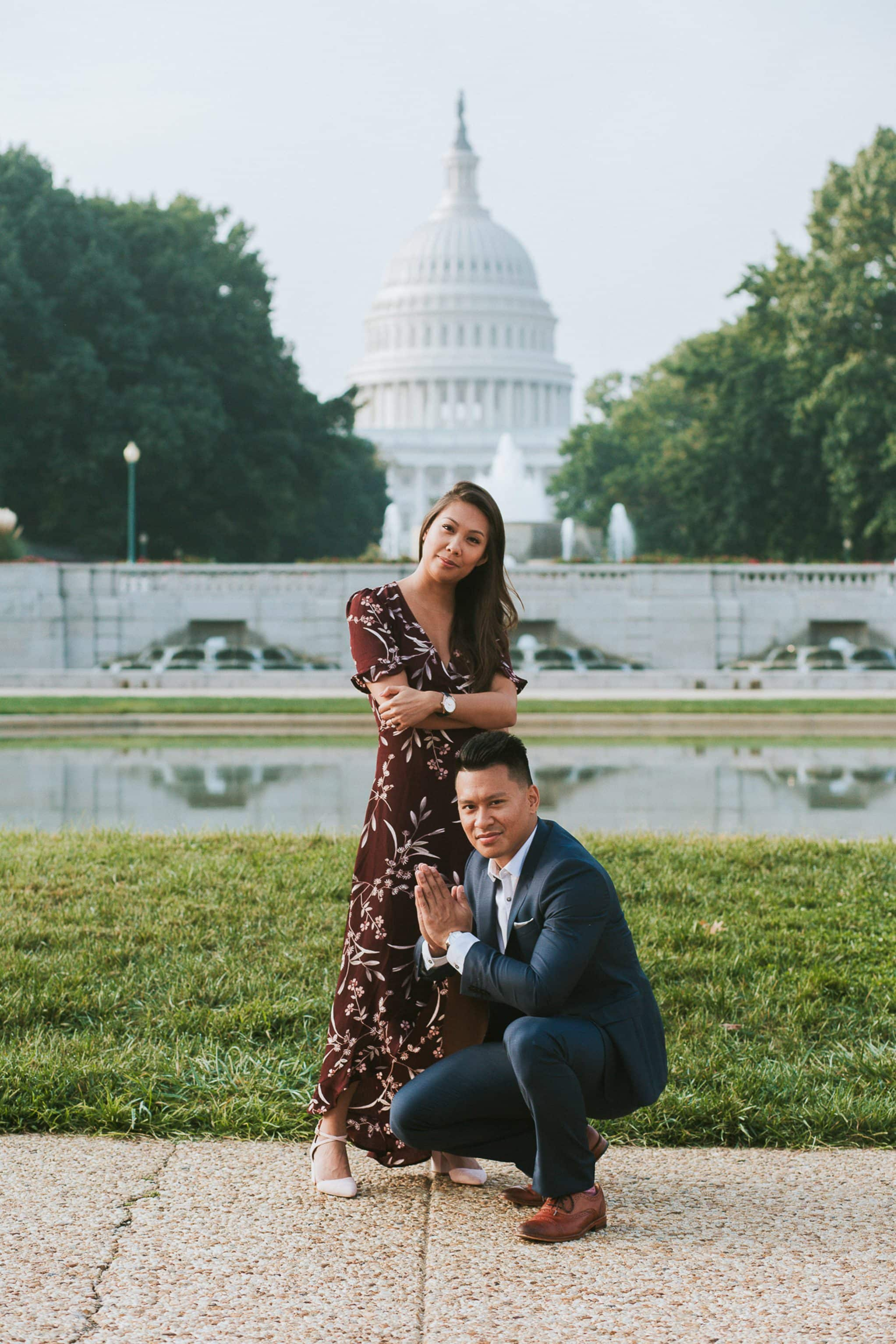 lower senate park engagement photo