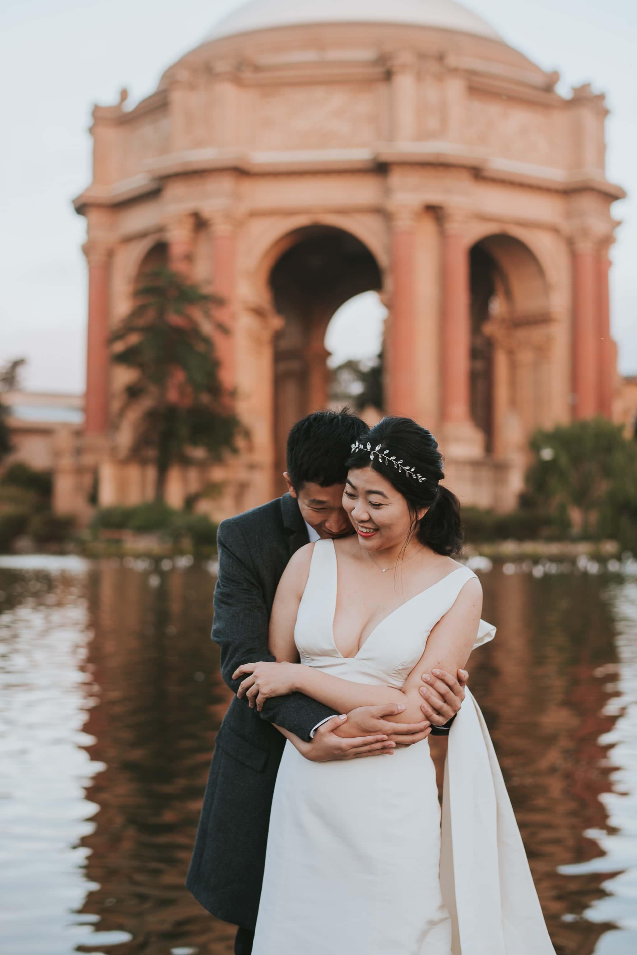palace of fine arts wedding photographer