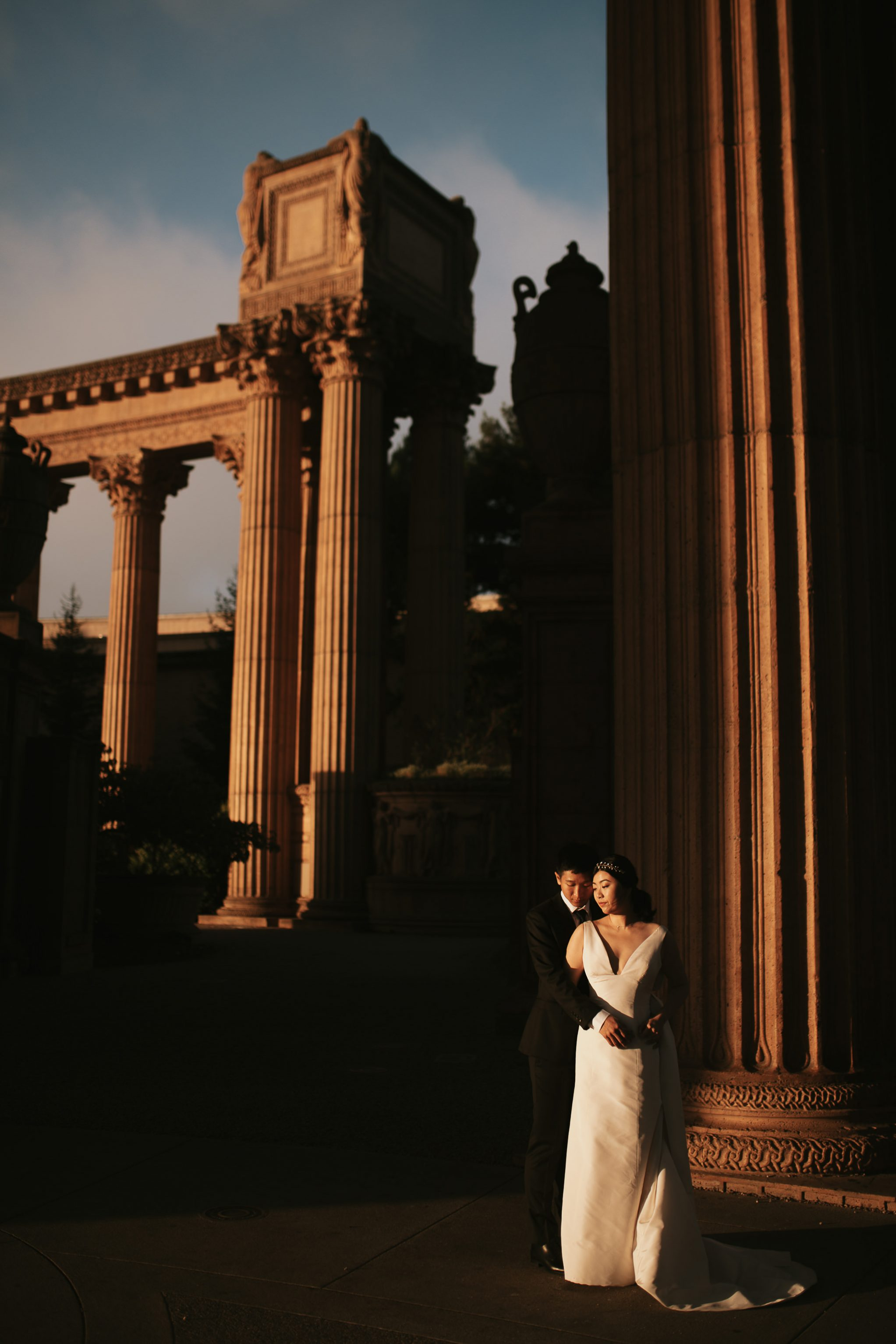 palace of fine arts san francisco wedding