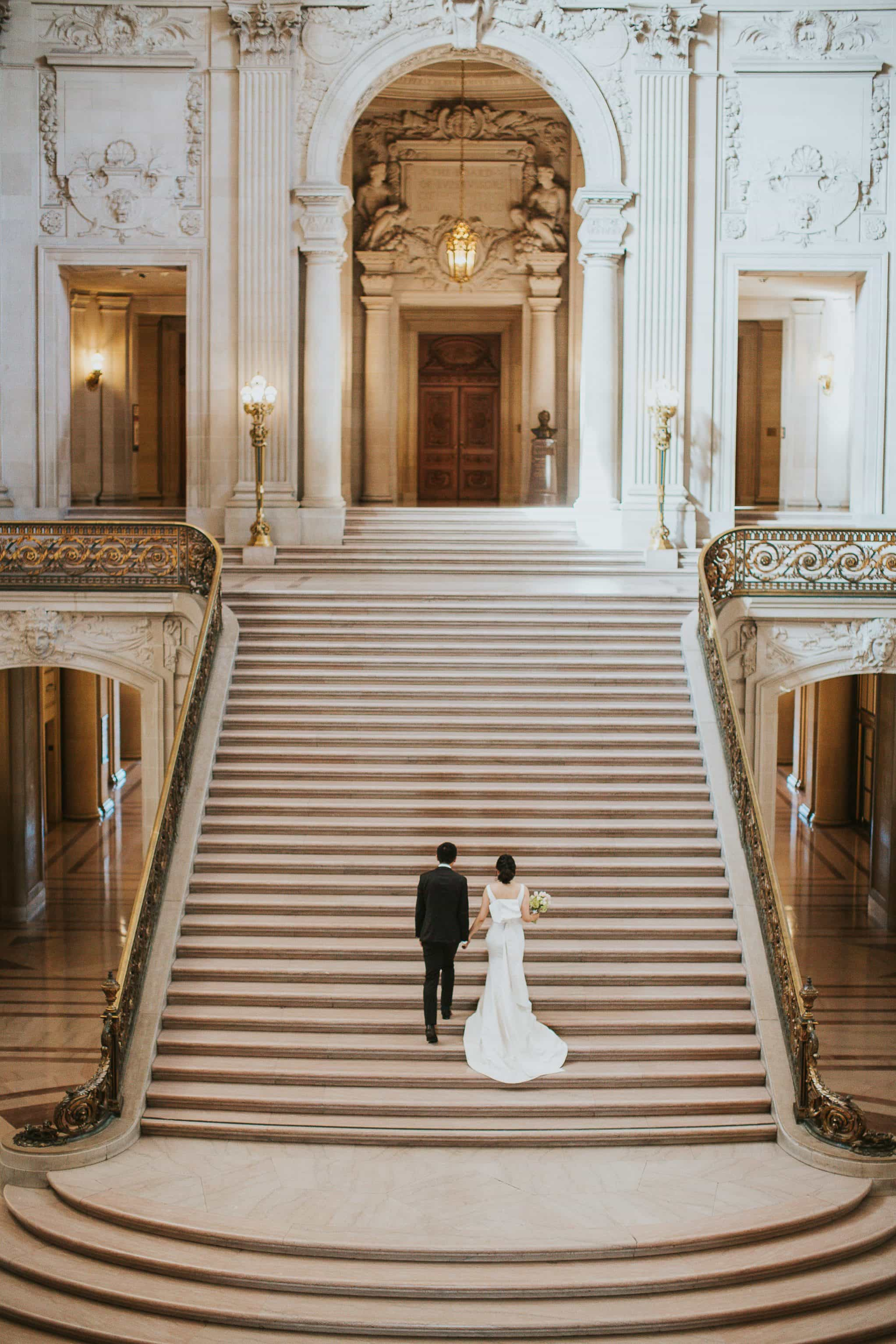 city hall san francisco wedding