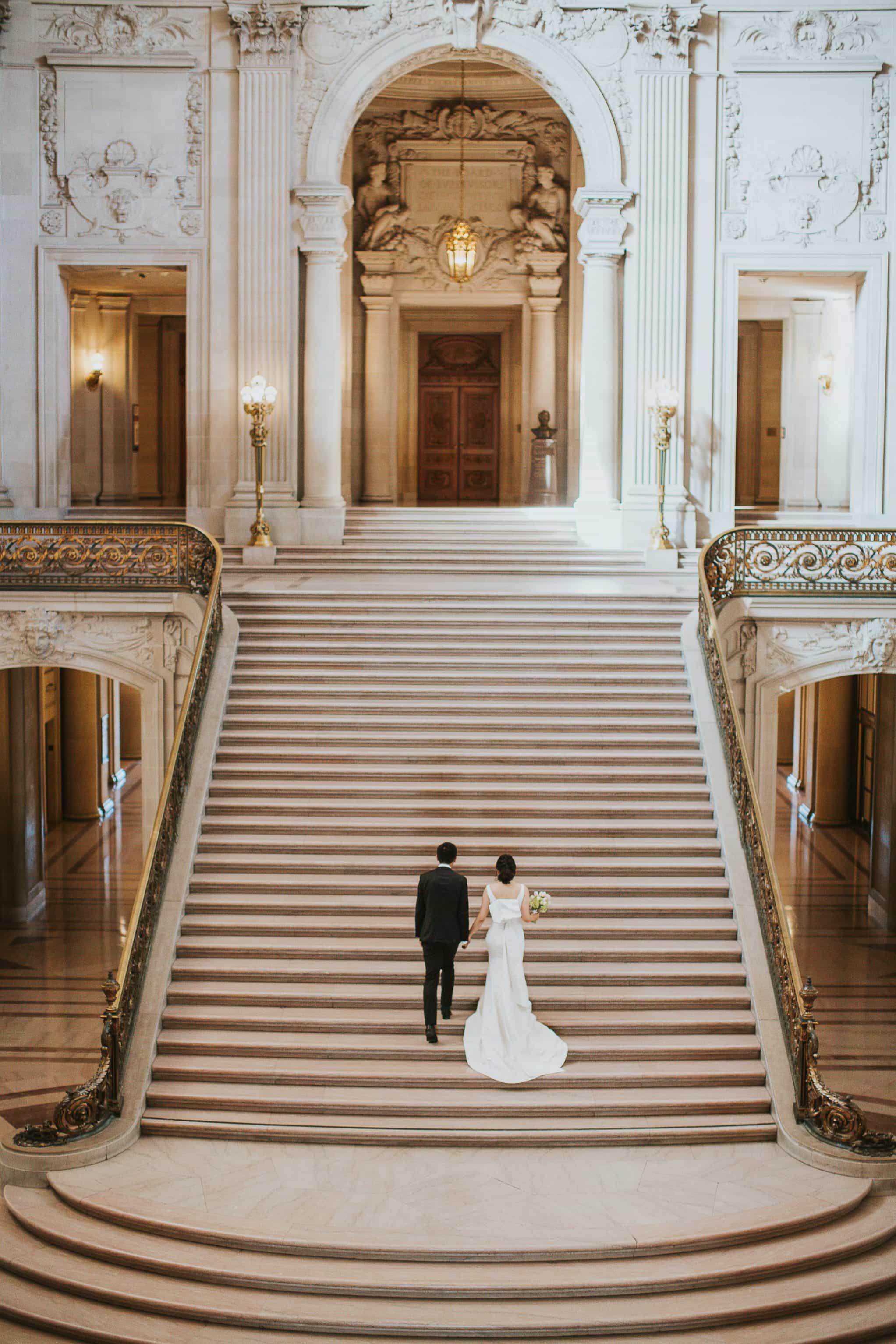 city hall san francisco wedding