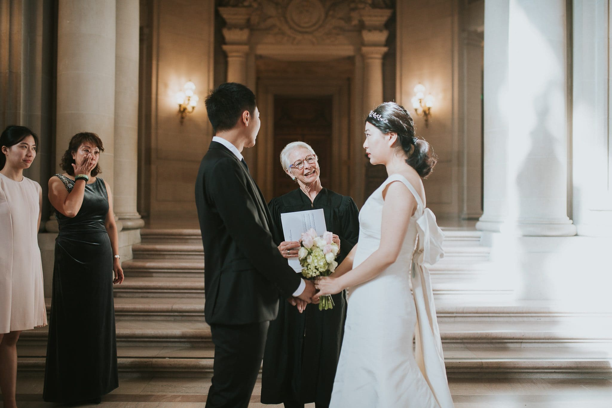 city hall san francisco wedding ceremony