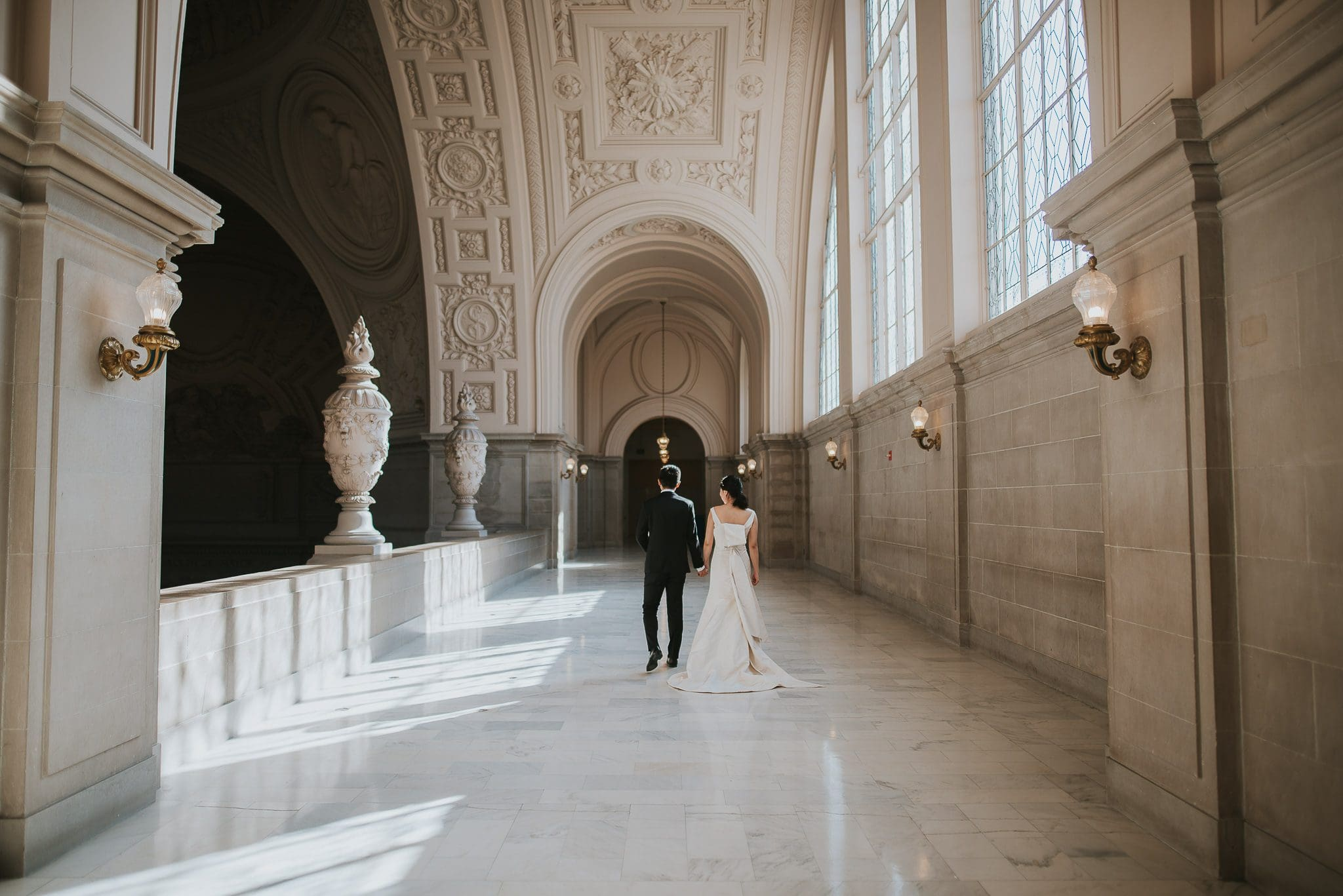 city hall san francisco wedding photoshoot