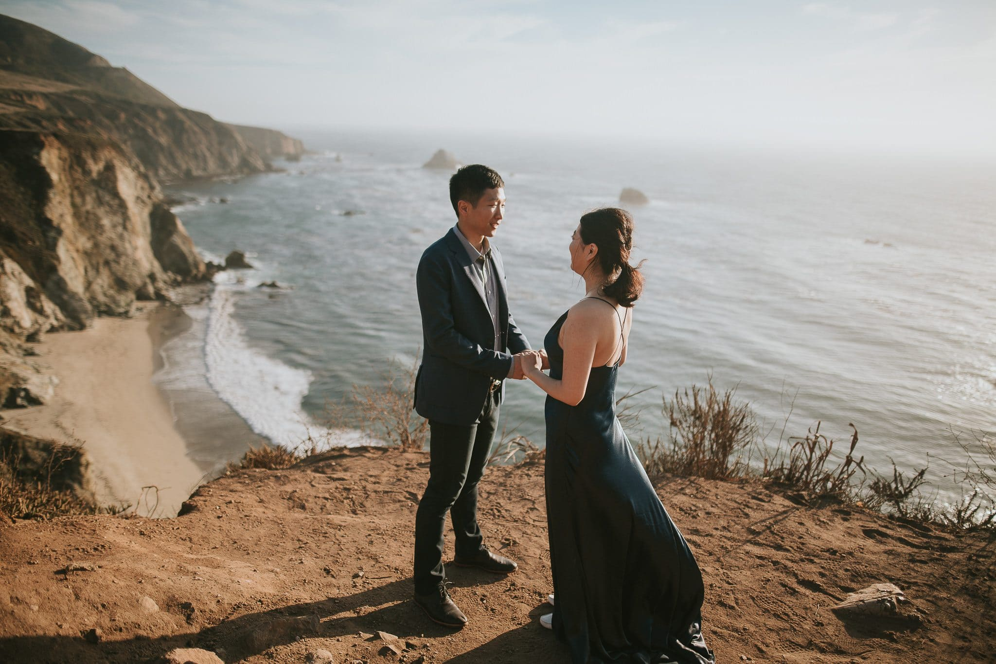 big sur wedding photoshoot
