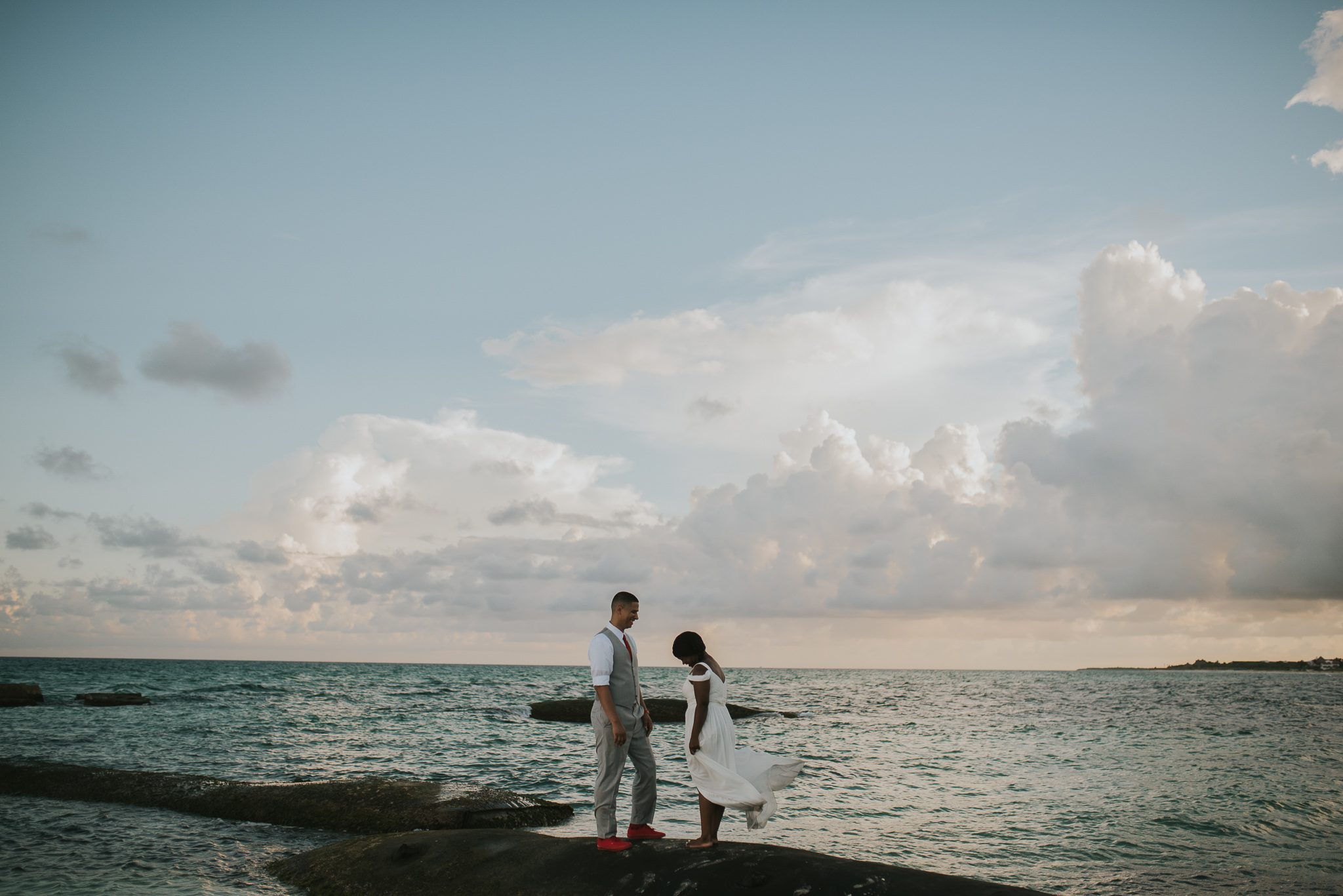 El Dorado Royale Quintana Roo Wedding Photography sunrise