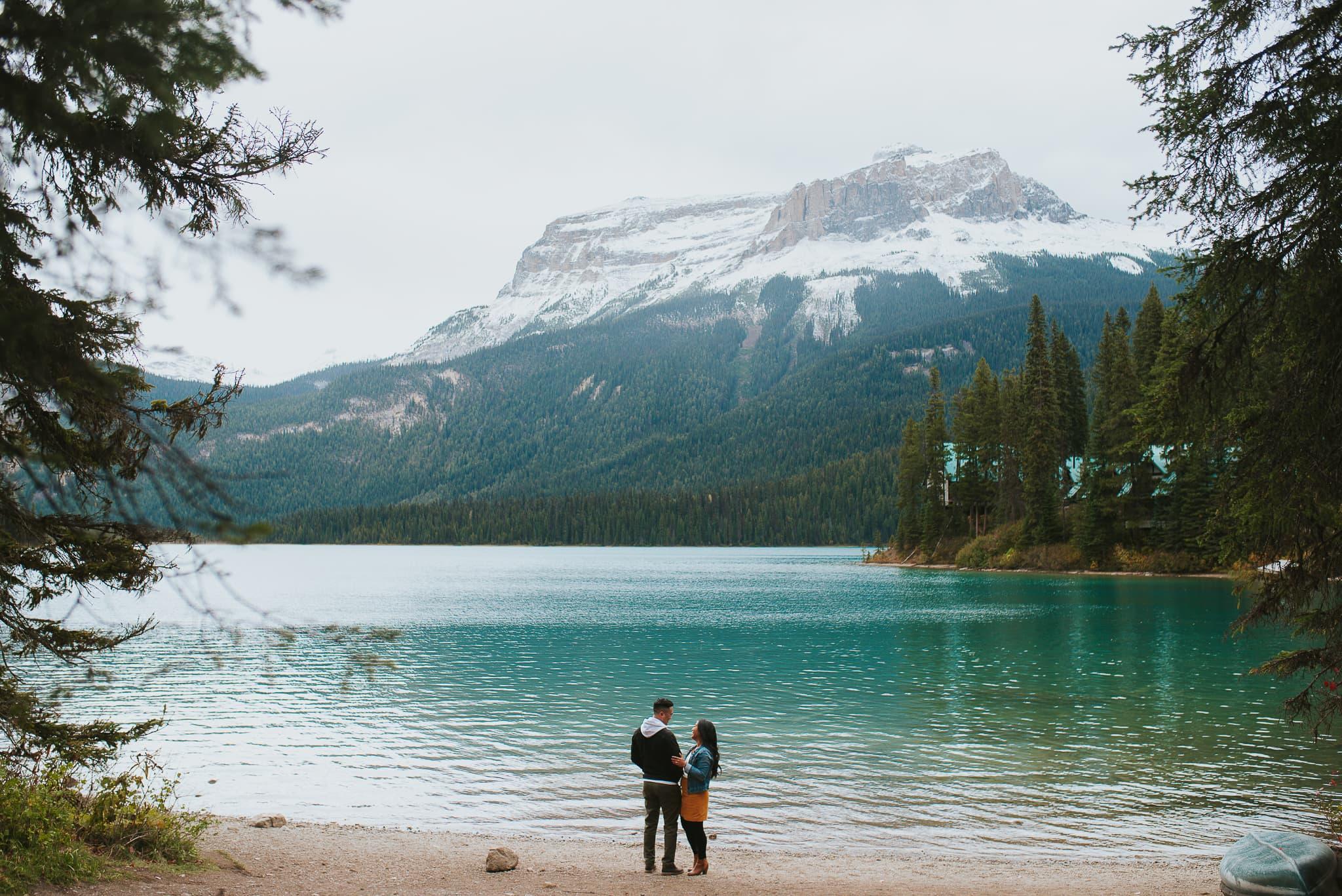 Emerald Lake photoshoot