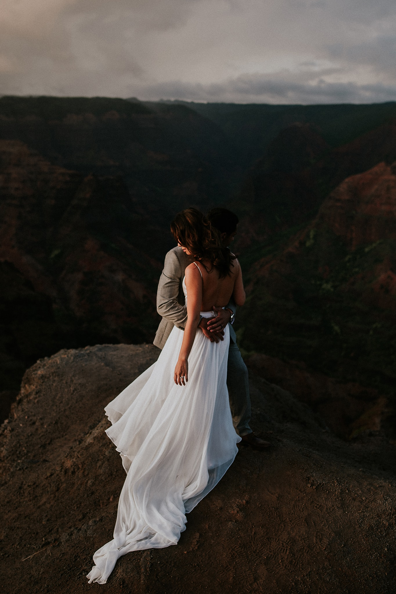 Waimea Canyon Trail Wedding